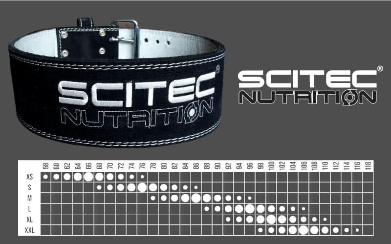 Scitec Nutrition Trainingsgürtel Super Powerlifter