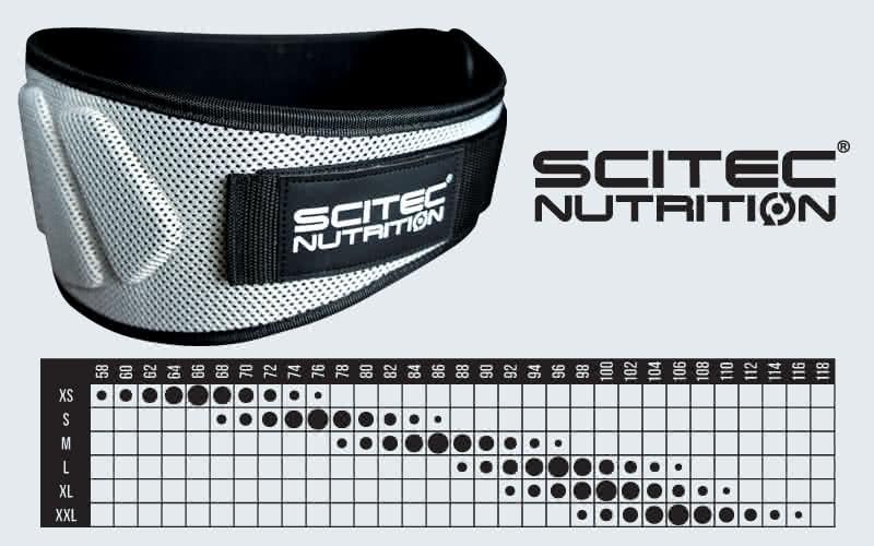 Scitec Nutrition Bodybuilding Gürtel Extra Support