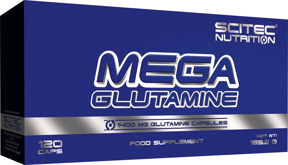Scitec Nutrition Mega Glutamine 120 kap.