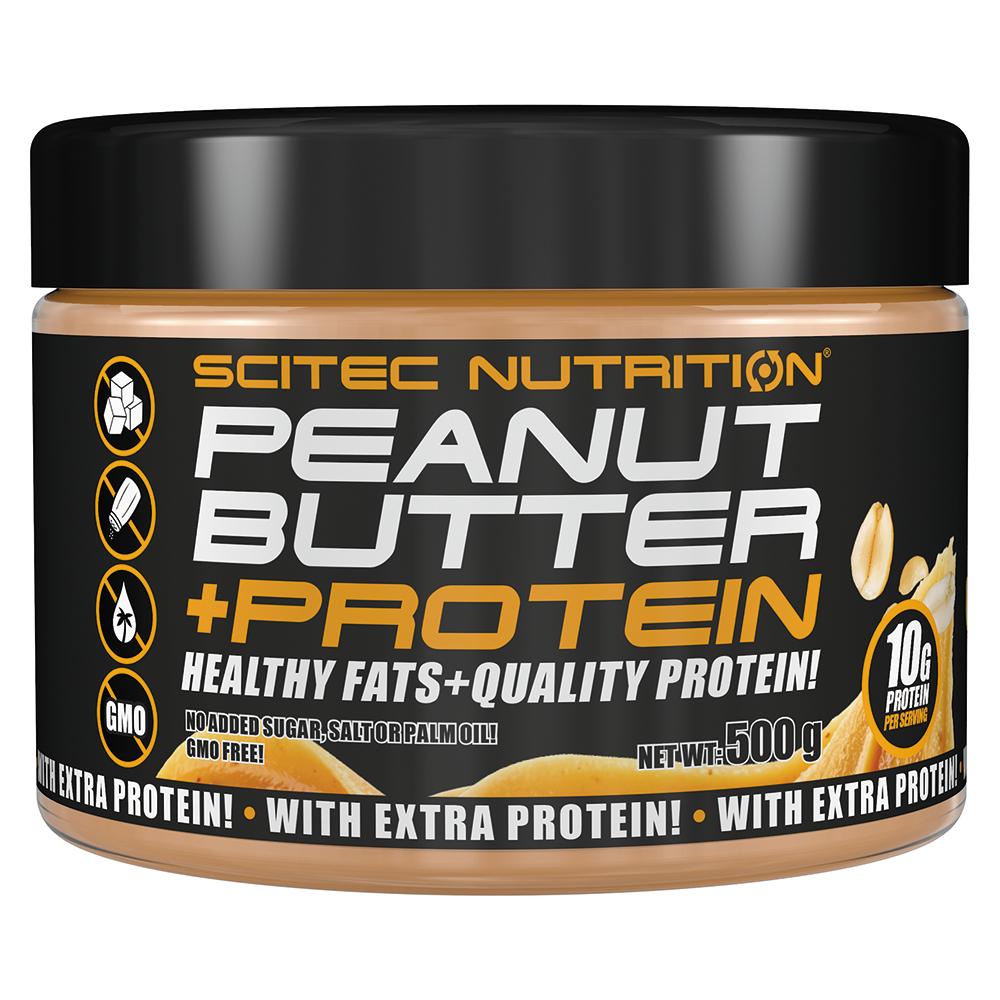 Scitec Nutrition Erdnussbutter + Protein (Peanut Butter+Protein) 500 gr.