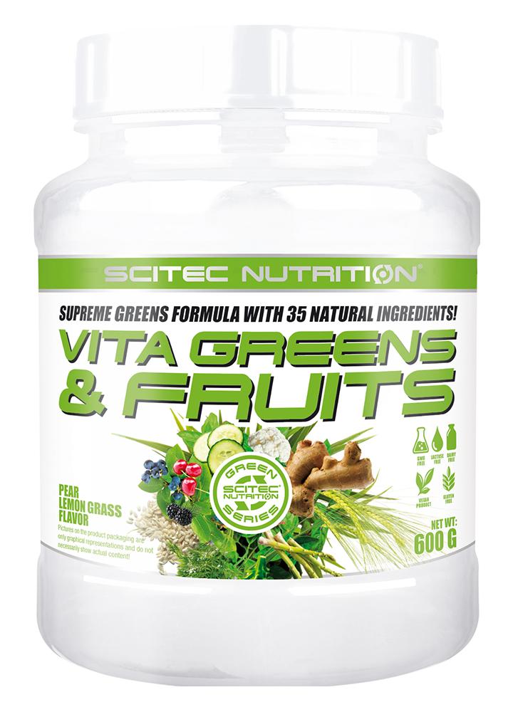 Scitec Nutrition Vita Greens & Fruits 600 gr.