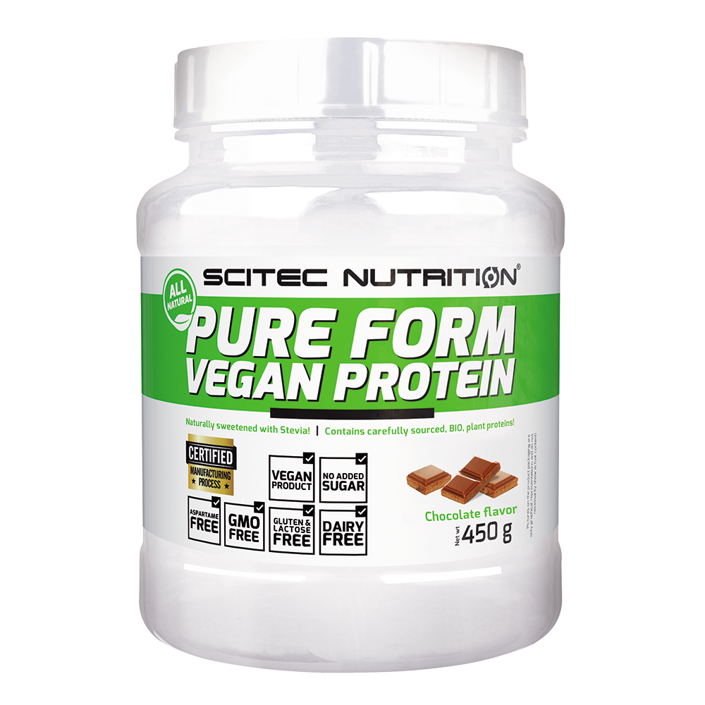 Scitec Nutrition Pure Form Vegan Protein 0,45 kg