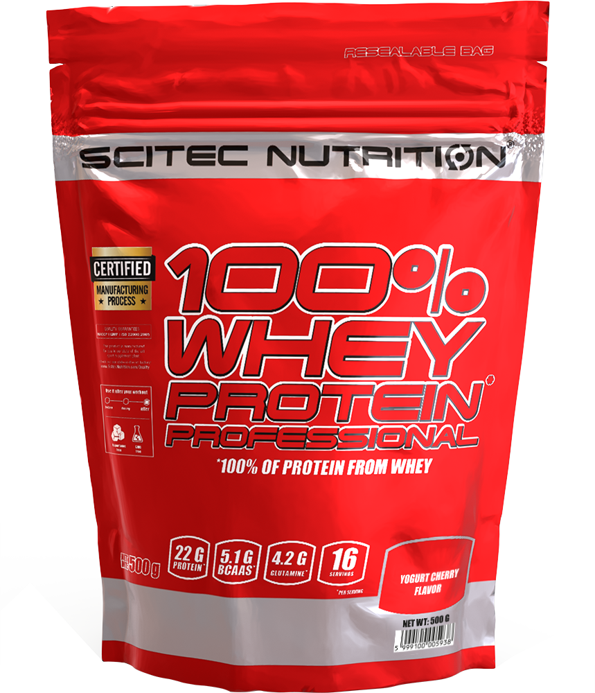 Scitec Nutrition 100% Whey Protein Professional 0,5 kg