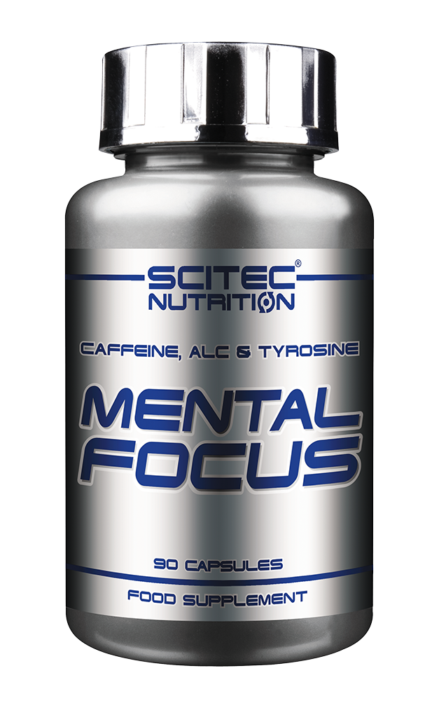 Scitec Nutrition Mental Focus 90 kap.