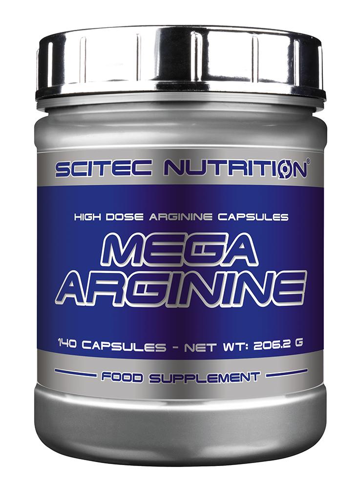 Scitec Nutrition Mega Arginine 140 kap.