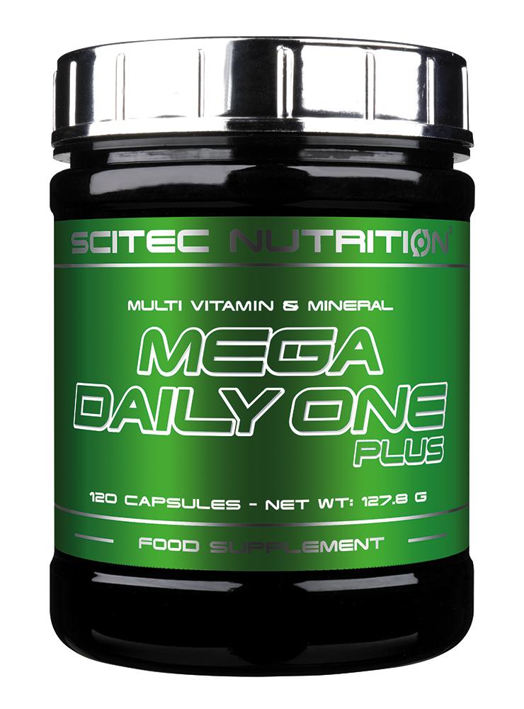 Scitec Nutrition Mega Daily One Plus 120 kap.